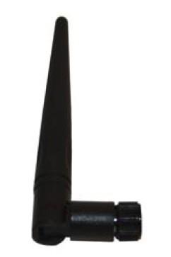 Antenna WLAN 2,4 GHz, hinge (Knickgelenk), rev. SMA (m), length 140mm