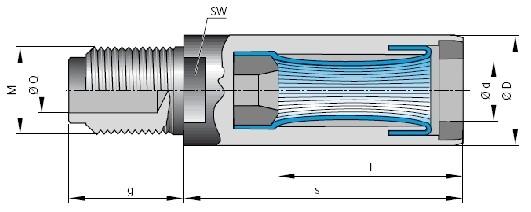 Drahtfederbuchse ø 1.5 mm Löt-Schraubanschl.