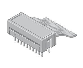Mini-FIX Leiterplattenverbinder IDC 30-pol