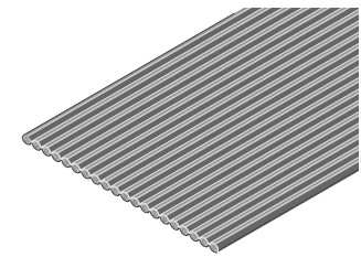 Flakafix Flachbandkabel AWG 26, 64-polig