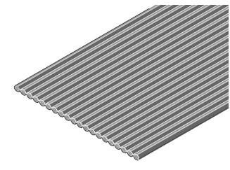 Flakafix Flachbandkabel AWG 30, 20-polig