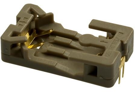 Batteriehalter für CR2032, THT