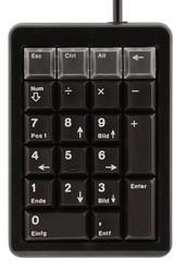 CHERRY Keypad PS/2 programmierbar schwarz DE Layout