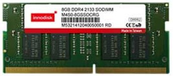 DDR4 8GB 512Mx8 260PIN SODIMM SA 2133MT/s 0..+85C
