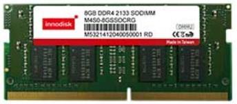 DDR4 8GB 1GBx8 260PIN SODIMM SA 2133MT/s 0..+85C