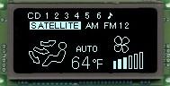 VFD Graphic Module 128X32 Compact Dot
