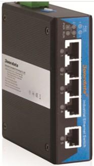 3onedata PoE Switch 1 port Eth.,4 ports PoE 10/100M unmanaged,-40+75C,48VDC