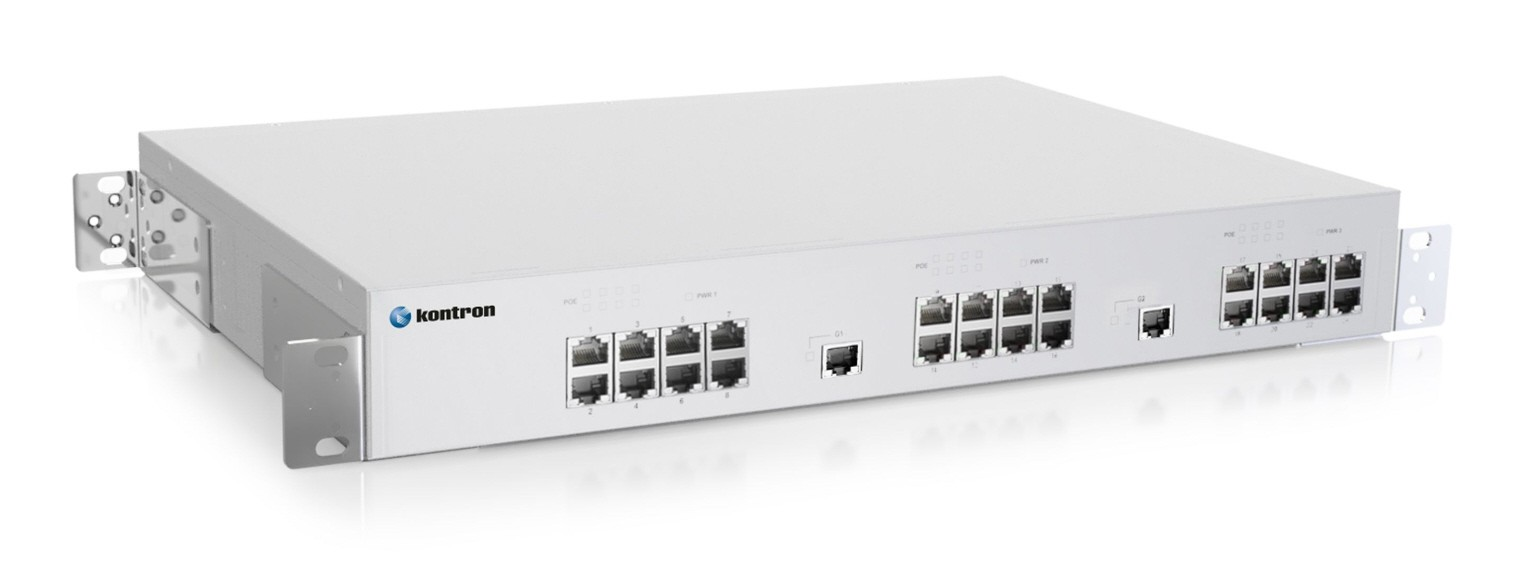 Ind. 26-port IEEE802.3af/at PoE Unmanaged Ethernet Switch,24PoE/PoE+output, -40°C to 75°C, 3xAC 750W