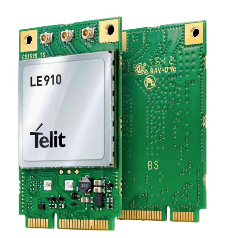 LE910-EU CAT1 mini PCIe Card 2G fallback