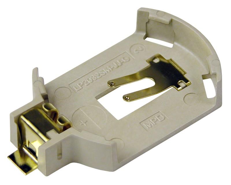 Batteriehalter für CR2032, Low Profile, SMT