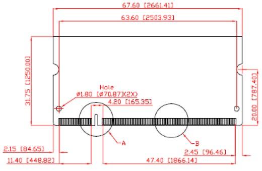 DDR1 1GB SO-DIMM 400MT/s Micron 0..+70C