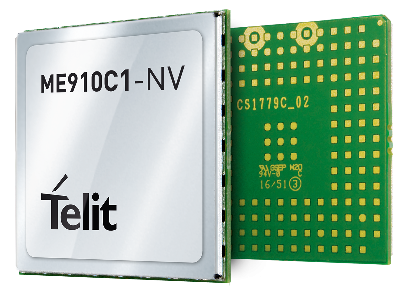 ME910 NA LTE Module Cat M1/NB1 single SKU with GNSS