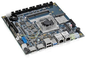 mITX-VV with E3815 incl. cooler, mITX-VV Entry variant, with BayTrailE3815