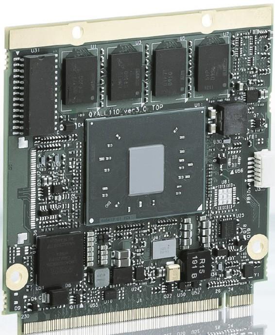 Qseven Module Atom™ x7-E3950, E2, 4C, 1.6/2.0 GHz, 8GB DDR3L ECC, 32GB SLC