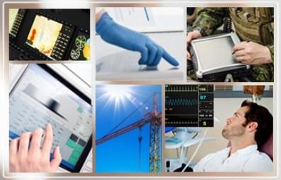 "10.4"" TFT Set,SVGA 800x600,10.4"" PCT,Driver Board,Air Bonding,Cables"