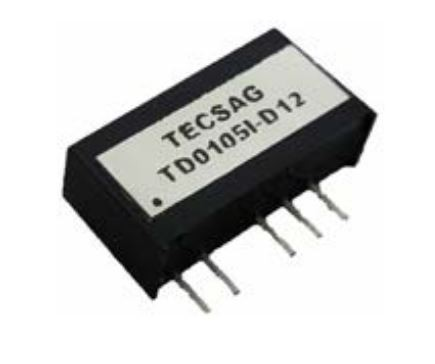 DC/DC 1W Fixed Input 5V single Out 15V 3kVDC Isol -25..+70C SMD