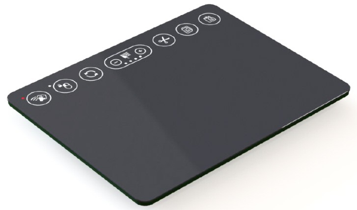 """Touchpad 6"""" OEM USB, with 8 Shortcut Keys, Glass overlay, excl. cable"""