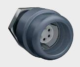 MINI-MED 4-polig, Geräteteil, Lötausführung