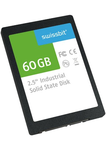 """Serial ATA Solid State Drive 2,5"""" 60GB e-MLC,0..+70C"""