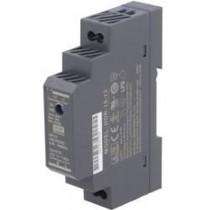 Power supply AC/DC, 15W, 24V, DIN-Rail, 90 - 264VAC, 33 x 71 x 57 mm