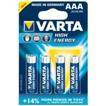 High Energy Alkaline-Batterie 1.5V / LR03 / AAA
