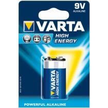 High Energy Alkaline-Batterie 9V/6LR61/E-Block