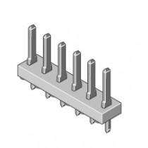 Stiftleiste 1-reihig Raster 3.96mm gerade 3-pol