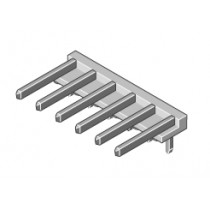 Stiftleiste 1-reihig Raster 3.96mm abgew. 3-pol
