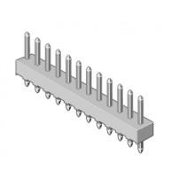 Stiftleiste 1-reihig Raster 2.54mm gerade 2-pol