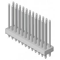 Stiftleiste 2-reihig Raster 2.54mm gerade 20-pol