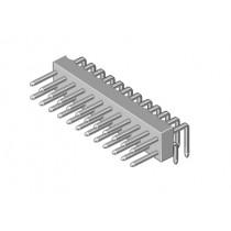 Stiftleiste 2-reihig Raster 2.54mm abgew. 4-pol
