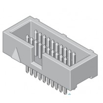 Mini-Flakafix Stiftleiste gerade 20-pol