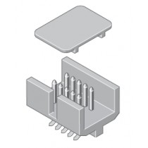 Mini-Flakafix Stiftleiste gerade 10-pol SMT