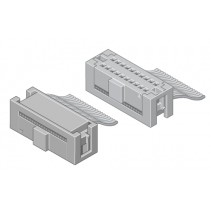 Mini-Flakafix Buchsenleiste IDC 50-pol