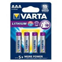 Lithium 6103 1.5V/AAA 4er Blister