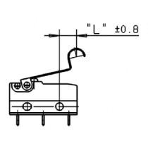 Zusatzbetätiger sim. Rolle, 2,50 / 4,70 mm