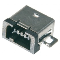USB, Typ B-Mini, 4 pol. SMD, H-Bauform