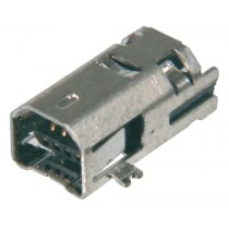 USB, Typ B-Mini, 4 pol. SMD, M-Bauform