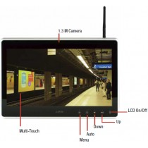 "15.6"" WXGA Multi Touch Display,VGA,DVI-D,IP65 front bezel"