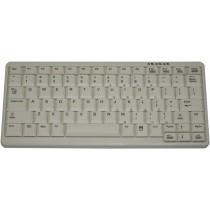 83 Key Notebook Style Keyboard, PS/2, light grey, German layout
