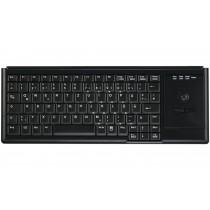 83 Key Notebook Style Trackball Keyboard, PS/2, black, German layout
