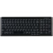 104 Key Notebook Style Keyboard with Numeric Pad, USB, black, German layout