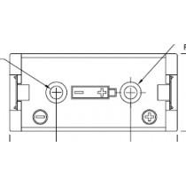 Batteriehalter 2/3A