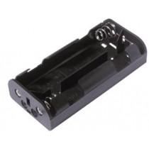 Batteriehalter für 4xC mit Lötlaschen