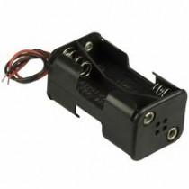 Batteriehalter für 8xC mit Drahtzuführung