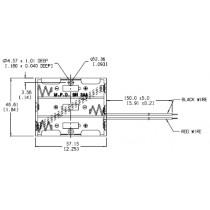 Batteriehalter für 3xAA mit Drahtanschluss