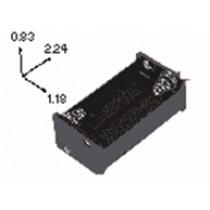Batteriehalter für 4xAA mit Lötfahnen