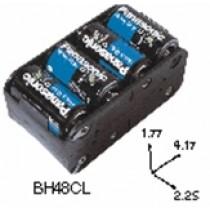 Batteriehalter für 8xC mit Lötfahne