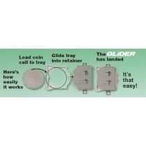 Batteriehalter für CR2032, SMD, Verpolungssicher, Seiteneinschub