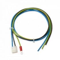 AC Eingangsleitung/3-polig incl PE mit Kabelschuh 610mm, Enden offen